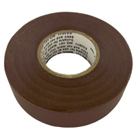 "Shaxon Vinyl Electrical Tape 3/4"" x 60' - Brown"