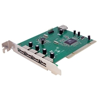 StarTech 7-Port USB 2.0 PCIe Host Card