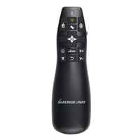 IOGear GreenPoint Pro Gyroscopic Presentation Mouse w/ Laser Pointer