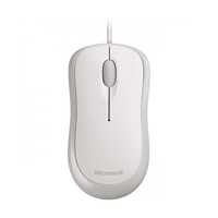 Microsoft Wired Optical Mouse - White