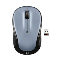 Logitech M325 Wireless Optical Mouse - Silver
