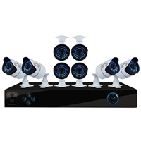Night Owl 16 Channel Digital Video Recorder DVR with 8 Indoor/Outdoor Night Vision Security Cameras