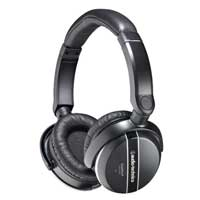 Audio Technica ATH-ANC27X QuietPoint On Ear Headphones - Black