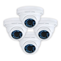 Night Owl 4 PCK 900TVL DOME CAMERAS