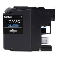 Brother LC203C High Yield Cyan Ink Cartridge