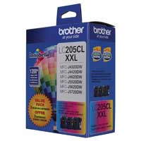 Brother LC205C XXL Super High Yield Cyan Ink Cartridge
