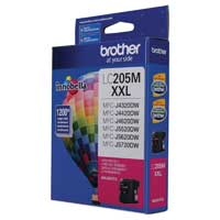 Brother LC205M XXL Super High Yield Magenta Ink Cartridge