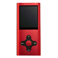 Mach Speed Technologies Eclipse 180 Pro MP3 Video Player - Red