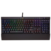 Corsair K70 RGB Illuminated Mechanical Gaming Keyboard - Cherry MX Red