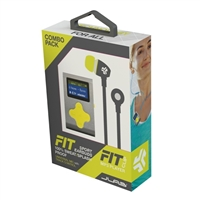 Mach Speed Technologies FIT Sport MP3 Bundle - Gray