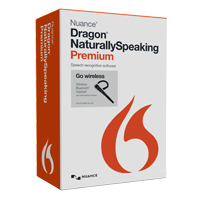 Nuance Dragon NaturallySpeaking Premium Wireless v13