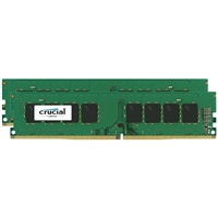 Crucial 16GB 2 x 8GB DDR4-2133 (PC4-17000) C15 Quad Channel Desktop Memory Module Kit
