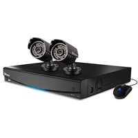 Swann Communications 4 Channel DVR with 500GB HD and  2 PRO-735 Cameras
