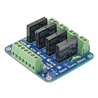 SainSmart 4 Channel 5V Solid State Relay Module Board.OMRON SSR AVR DSP Arduino