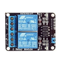 SainSmart 2-Channel 5V Relay Module