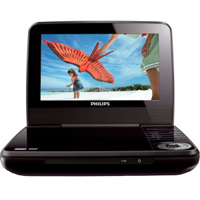 "Philips 7"" DVD Player Refurbished"