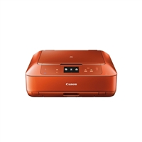 Canon PIXMA MG7520 Wireless Photo All-in-One Inkjet Printer-Orange