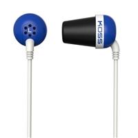 Koss Plug In Ear Stereo Earbuds - Blue