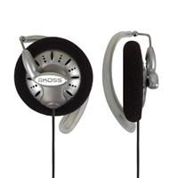 Koss KSC75 Ear Clip Earphones - Silver/Black