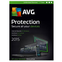 AVG Protection 2015 - 1 Year (PC/Mac)