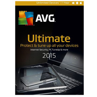 AVG Ultimate 2015 - 1 Year (PC/Mac)