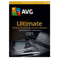 AVG Ultimate 2015 2 Year (PC/Mac)