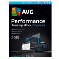 AVG Performance 2015 1 Year (PC/Mac)