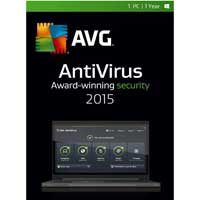 AVG Antivirus 2015 1 Device 1 Year (PC)