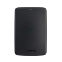 Toshiba Canvio Basics 1TB Portable Hard Drive HDTB310XK3AA - Black