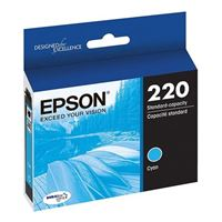 Epson T220220-S Cyan Ink Cartridge