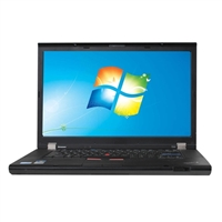 "Lenovo ThinkPad T510 Windows 7 Professional 15.5"" Laptop Computer Refurbished - Black"