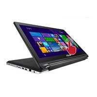 """ASUS Flip R554LA-RH51T 15.6"""" Laptop Computer - Black"""