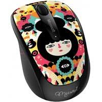 Microsoft 3500 Wireless Optical Mouse - Styled by Art Muxxi