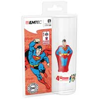 Emtec International 8GB USB 2.0 Flash Drive - Superman