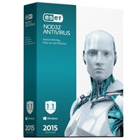 ESET NOD32 Antivirus 2015 - 1 Device, 1 Year (PC)