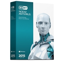 ESET NOD32 Antivirus 2015 - 1 Device, 2 Years (PC)