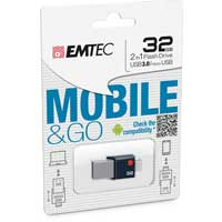 Emtec International 32 GB USB 3.0 Flash Drive ECMMD32GT203