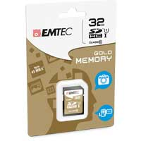 Emtec International 32GB Class 10 Secure Digital High Capacity SDHC Flash Media Card with Adapter ECMSD32GHC10