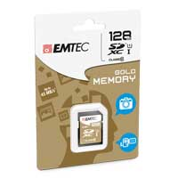 Emtec International 128 GB Secure Digital High Capacity SDHC Flash Media Card with Adapter ECMSD32GHC10