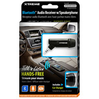 Xtreme Cables Bluetooth Audio Receiver with Speakerphone