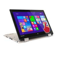 "Toshiba Satellite Radius 11 L15W-B1320 11"" 2-in-1 Laptop Computer - Fusion Finish in Satin Gold"