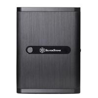 SilverStone SST-DS380B mITX Computer Case - Black