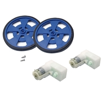 Solarbotics GM8 Motors Kit - 6 Pieces