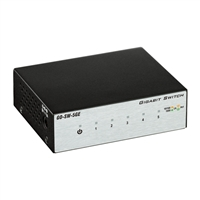 D-Link GO-SW-5GE 5-Port Gigabit Unamanaged Metal Desktop Switch