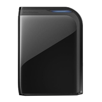 "BUFFALO MiniStation Extreme 2 TB SuperSpeed USB 3.0 2.5"" Portable Hard Drive HD-PZ2U3B - Black"