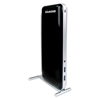 Diamond DS3900 Ultra Dock Dual Video USB 3.0/2.0 Docking Station w/ Gigabyte Ethernet