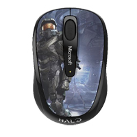 Microsoft Wireless Mobile Mouse 3500 - Halo Edition