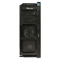 Solid Gear G5 Mid-Tower Gaming Computer Case - Black