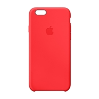 Apple Silicone Case for iPhone 6 - Red