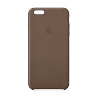 Apple Leather Case for iPhone 6 Plus - Olive Brown